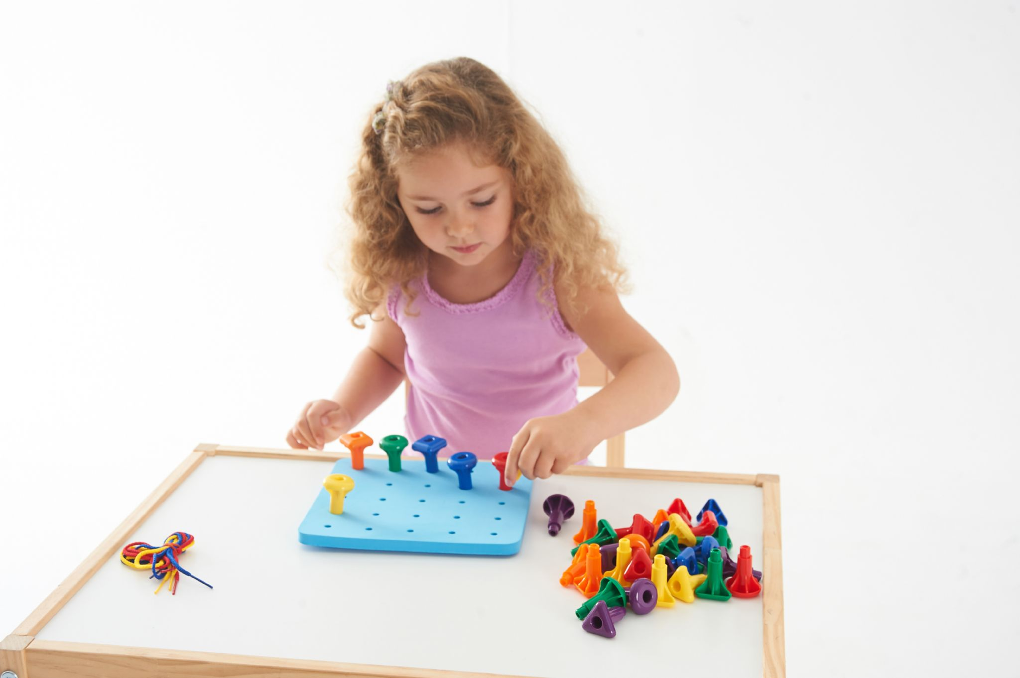 Giant Pegs and Pegboard Set Special needs classroom resources